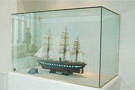 德川幕府軍艦「開陽」模型