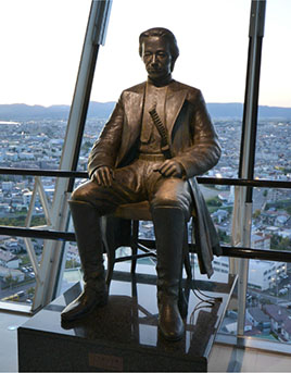 Statue of Toshizo Hijikata