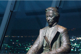 土方歲三的青銅像