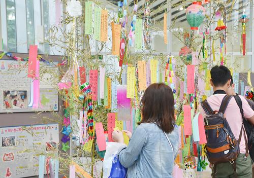 Goryokaku Tower Tanabata Festival 2018
