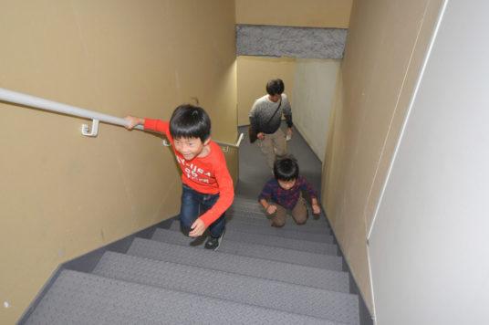 体育の日 「階段のぼりチャレンジ!」