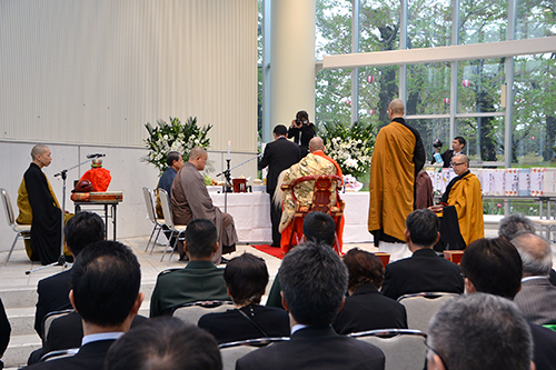 Memorial Service for the War Dead of the Battle of Hakodate